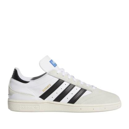 adidas Skateboarding Busenitz Pro Shoes - Cloud White / Core Black / Crystal White