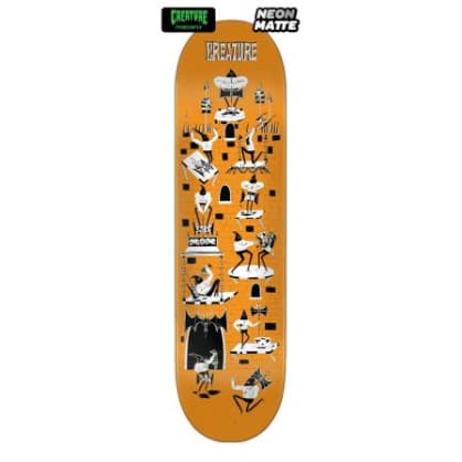 Creature Skateboard Deck Free For All SM Powerply 8.0in x 31.8in
