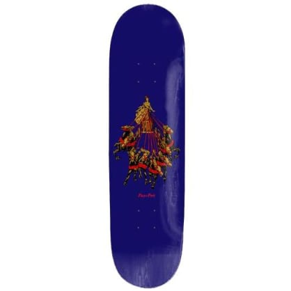 "Pass ~ Port ""State Horses "" Skateboard Deck 8.5"""