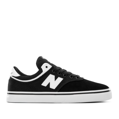 New Balance Numeric 255 Skate Shoes - Black / White