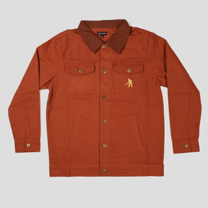 """PASS~PORT """"WORKERS"""" LATE JACKET BROWN"""