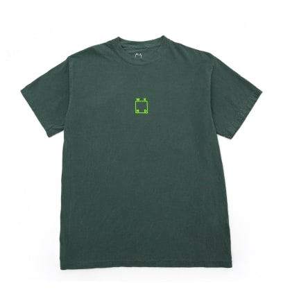 WKND Center Logo T-Shirt - Blue Spruce