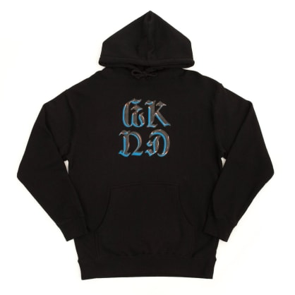 WKND Chrome On Hoodie - Black
