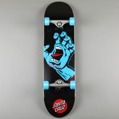 "Santa Cruz 'Screaming Hand' 8"" Complete Skateboard (Black)"