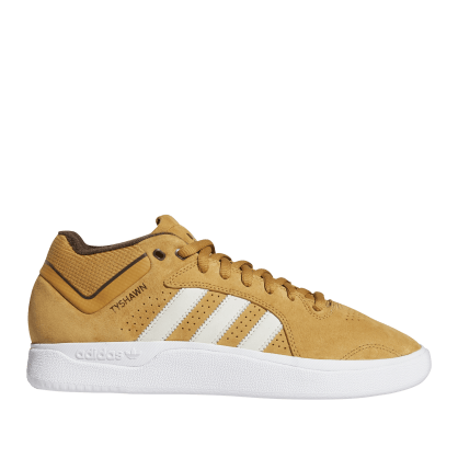 adidas Skateboarding Tyshawn Shoes - Mesa / Chalk White / Dark Brown