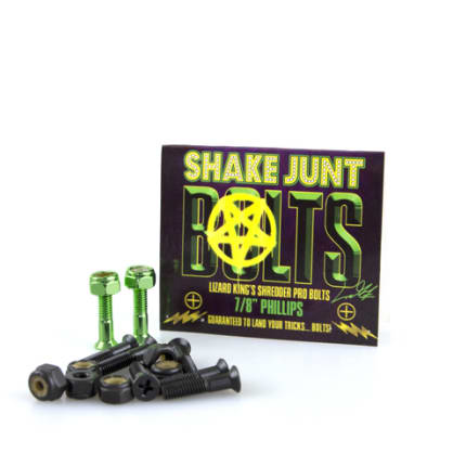 Shake Junt Skateboard Fixing Bolts Lizard King Pro Bolts 7/8 Phillips