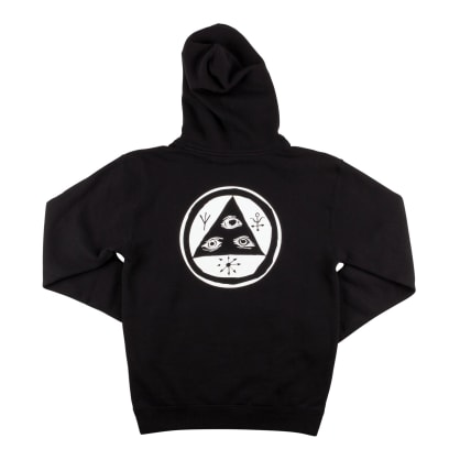 Welcome Skateboards Talisman Pullover Hoodie - Black / White