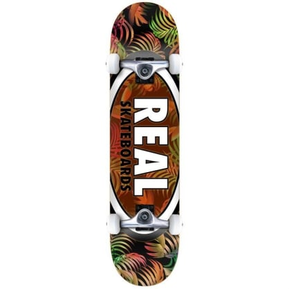 "Real Tropic Ovals II 7.75"" Complete Skateboard"