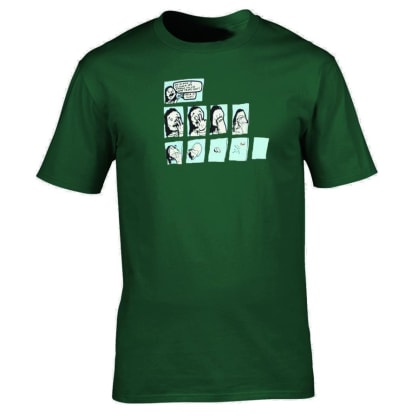 Trippy Tee (Forest Green)