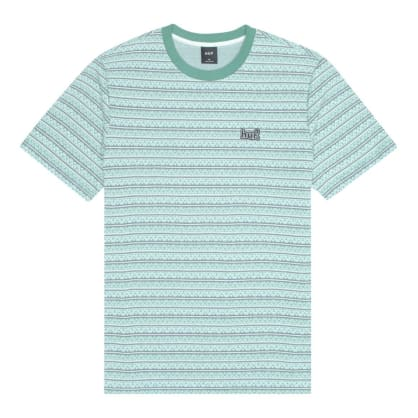 HUF Allen Knit Tee Harbor Grey