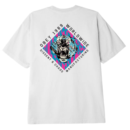 Obey Dissent & Chaos Tiger Classic T-Shirt