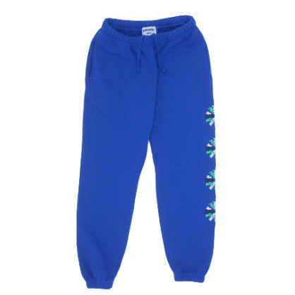 Fucking Awesome Spiral Sweatpants - Blue