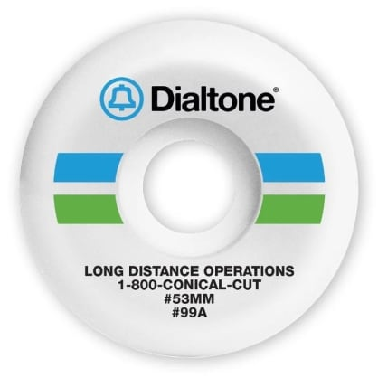 Dial Tone Bell South Conical 99A 53mm Wheels