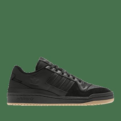 adidas Skateboarding Forum 84 Low ADV Shoes - Core Black / Core Black / Vivid Red