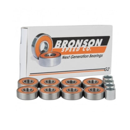Bronson Speed Co. G2 Skateboard Bearings