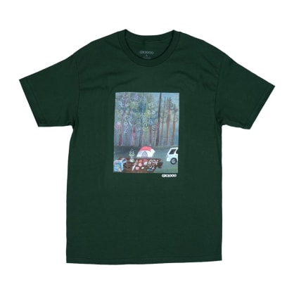 GX1000 Camping T-Shirt - Forest Green