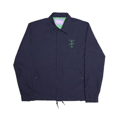 Alltimers Finesse Coaches Jacket - Navy