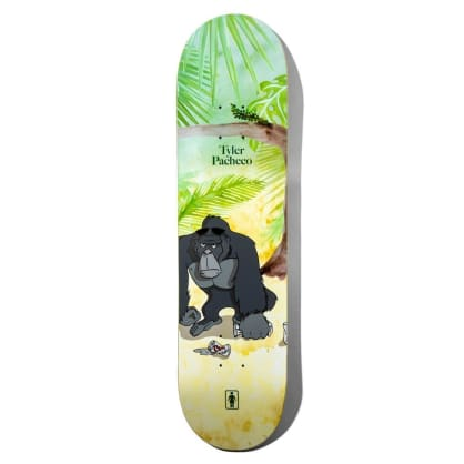 Girl Pacheco Jungle Beers Skateboard Deck - 8.375""