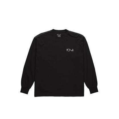 Polar Skate Co Contrast Long Sleeve - Black