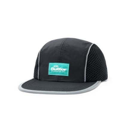 Butter Goods Expedition 4 Panel Cap/Black