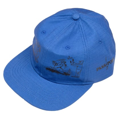 Pass~Port - W.C.W.B.F - 6 - Panel Cap - Royal