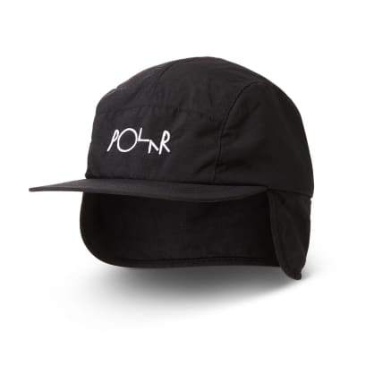 Polar Skate Co Flap Cap - Black