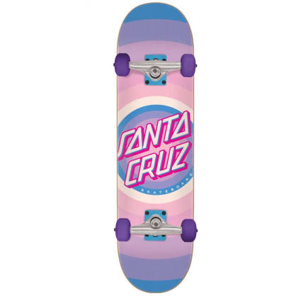 Santa Cruz Skateboard Complete Gleam Dot Purple - 7.75