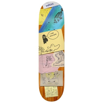 Krooked Gonz My Shap Full Skateboard Deck - 8.25""