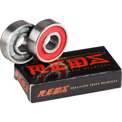 Bones Reds Replacement Skateboard Bearings - Single Wheel - 2 Pack