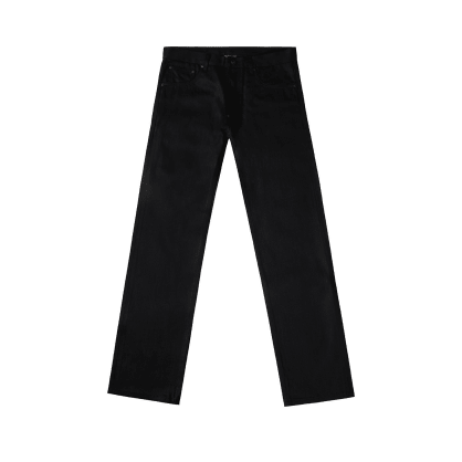 "BABYLON LA - ""12 OZ BLACK SELVEDGE DENIM"" (BLACK)"