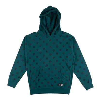 Welcome Skateboards Tali-Dot Pullover Hoodie - Dusty Teal / Black