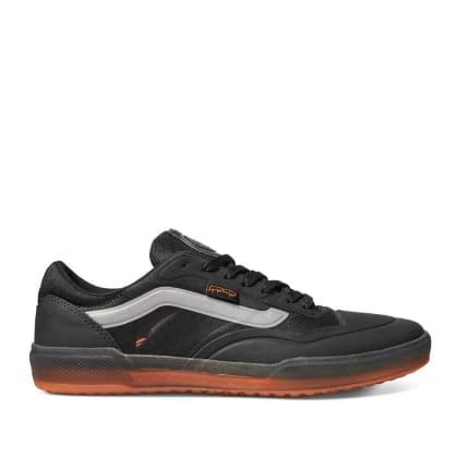 Vans x Fucking Awesome AVE Pro Skate Shoes - Black / Orange