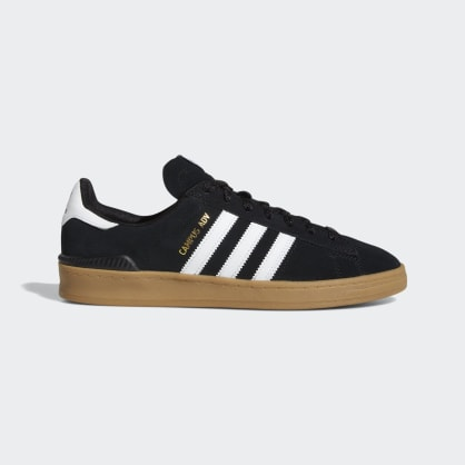 Adidas Campus ADV Shoes - Core Black/Cloud White/Gum 4