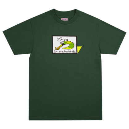 Frog Skateboards Classic Frog Logo T-Shirt - Forest Green