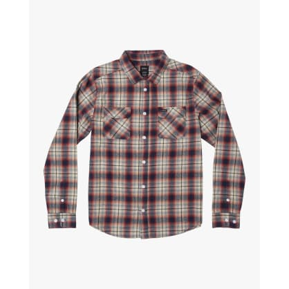 RVCA Hostile Plaid Button-Up Flannel