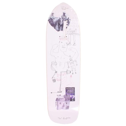 Orchard Sageman Smiling Dog Deck (Punk Point) 8.5""