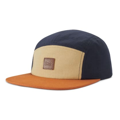 Brixton Stith LP Camper Cap - Gravel/Amber/Washed Navy