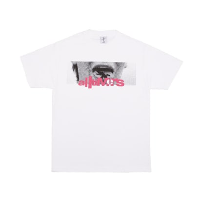 Alltimers Lizzy Tongue T-Shirt - White
