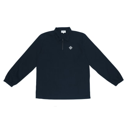 The National Skateboard Co. Quarter Zip Shirt - Navy