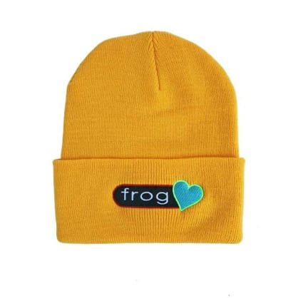 Frog Skateboards Perfect Heart Beanie - Yellow