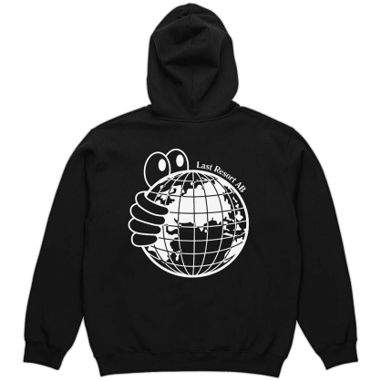Last Resort AB World Hoodie - Black