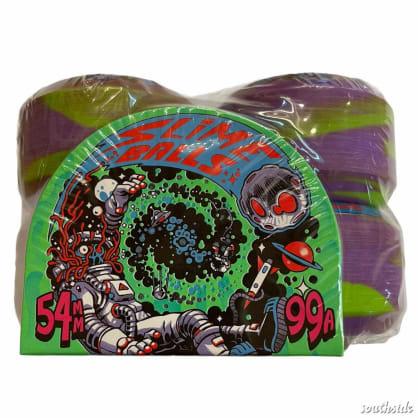 Slime Balls Astros Speed Balls Purple Green 54mm99A Swirl