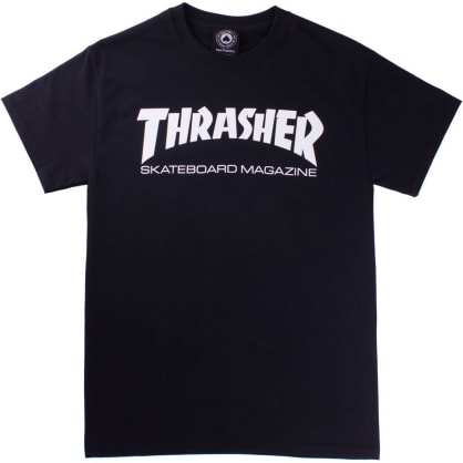 Thrasher Tee Skate Mag Black