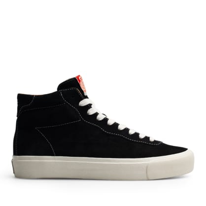 Last Resort AB VM001 Suede Hi Skate Shoes - Black / White