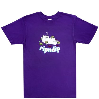 Ripndip Fat Hungry Baby T-Shirt - Purple