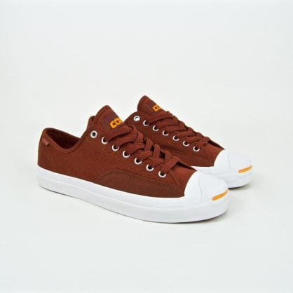 Converse Cons - Jack Purcell Pro OX (Workwear) Shoes - Cinnamon / White / Orange