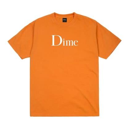 Dime Classic Logo T-Shirt - Bright Orange