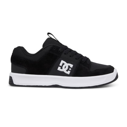 DC Shoes Lynx Zero Leather Skate Shoes - Black / White