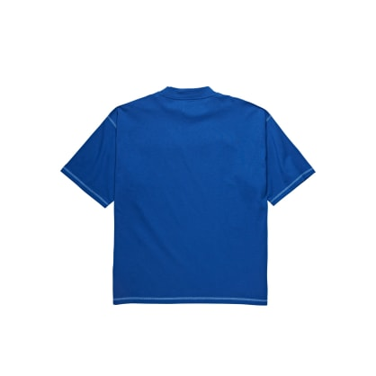 Polar Skate Co Station Logo Surf T-Shirt - Blue