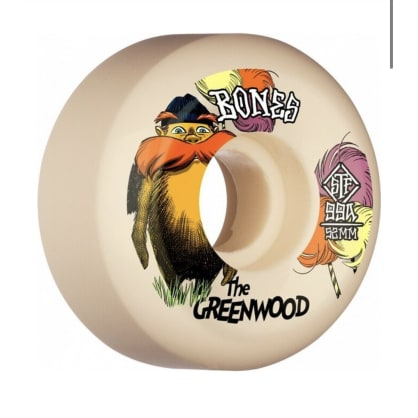 Bones Wheels Greenwood Pro Model V5 Sidecut